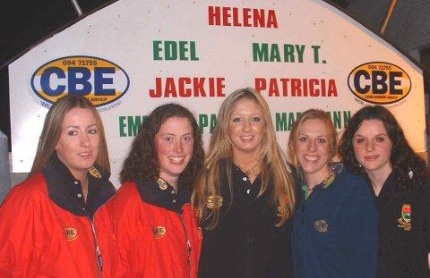 Mayo ladies team members from Shrule