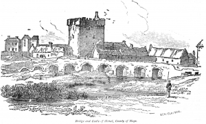 BRIDGE AND CASTLE OF SHRUEL, COUNTY of Mayo.